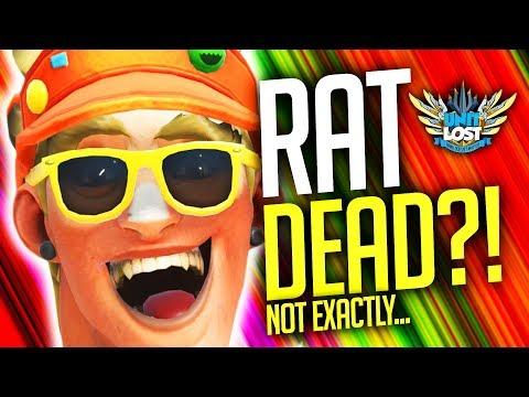 connectYoutube - Overwatch - RAT DEAD?! Junkrat Mine Damage NERF - Is It Enough?