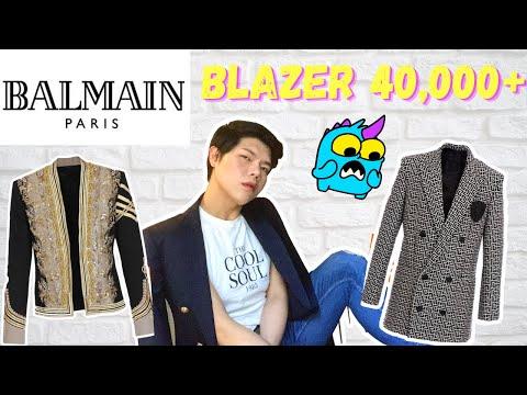 Balmain-military-blazer-ในตำนา