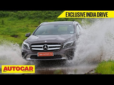 2014 Mercedes-Benz GLA | Exclusive India Drive Video Review