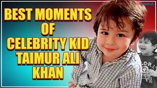 Taimur Ali Khan | Best moments of celebrity kid | Saif Ali Khan | Kareena Kapoor Khan | TellyChakkar - TELLYCHAKKAR