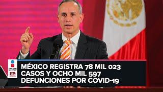López-Gatell desdeña pruebas masivas de Covid-19