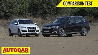 BMW X5 vs Audi Q7 | Comparison Test - BMW Videos
