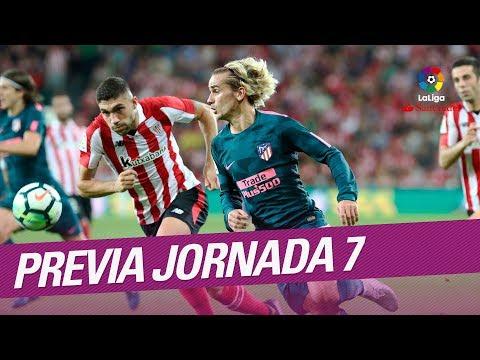 Previa de la Jornada 07 LaLiga Santander 2017/2018