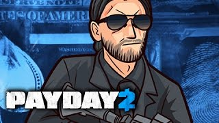 KEANU REEVES - PAYDAY 2 Random Moments