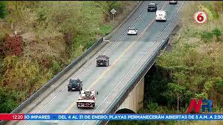 Habilitarán carriles reversibles en Ruta 27 durante este fin de semana