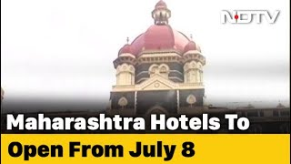 Maharashtra Allows Hotels Outside Containment Zones To Reopen From July 8 - NDTV