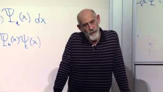 Advanced Quantum Mechanics Lecture 9