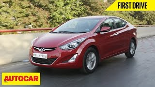 2015 Hyundai Elantra | First Drive | Autocar India