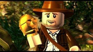 LEGO Indiana Jones: The Original Adventures Walkthrough P.1 - The Lost Temple & Into the Mountains