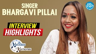 Singer Bhargavi Pillai Exclusive Interview Highlights | Melodies And Memories | iDream Telugu Movies - IDREAMMOVIES