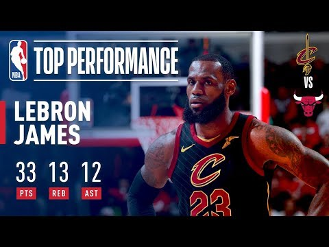 connectYoutube - LeBron James' 15th TRIPLE DOUBLE in Year 15!