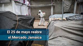 Este lunes regresa el Mercado Jamaica tras 18 días cerrado por Covid-19