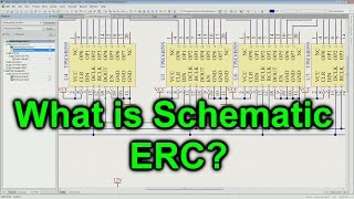 EEVblog #953 - What Is Schematic ERC?