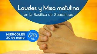 Rezo de Laudes y Misa en la Basílica de Guadalupe. 20/05/2020
