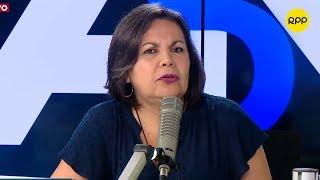 """Rocío Silva: """"Se debería cambiar todo el Gabinete Ministerial"""""""