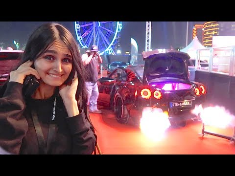 DUBAI'S CRAZIEST CARS *FLAME THROWER* !!!