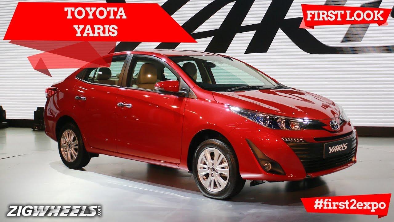 Toyota Yaris At Auto Expo 2018 | ZigWheels.com
