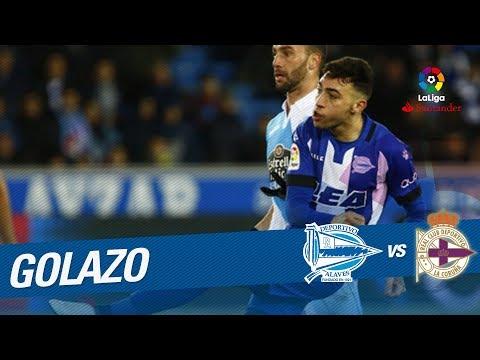 Golazo de Munir (1-0) Deportivo Alavés vs RC Deportivo