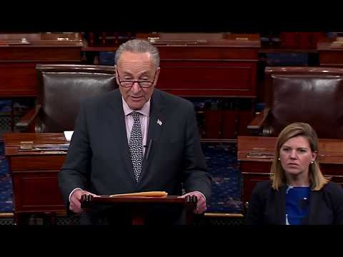 Trump is 'TREMBLlNG' after hearing message from Schumer on Mueller's Investigation Future