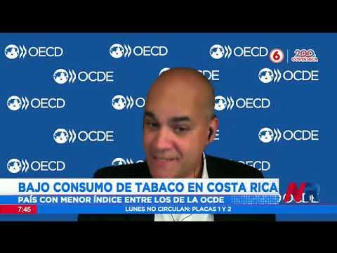 OCDE: Consumo diario de tabaco en Costa Rica es de 4,2%