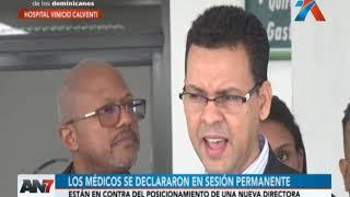 Médicos del Vinicio Calventi se declararon en sesión permanente