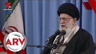 Irán lanzó misiles a dos bases con tropas estadounidenses en Iraq   Al Rojo Vivo   Telemundo