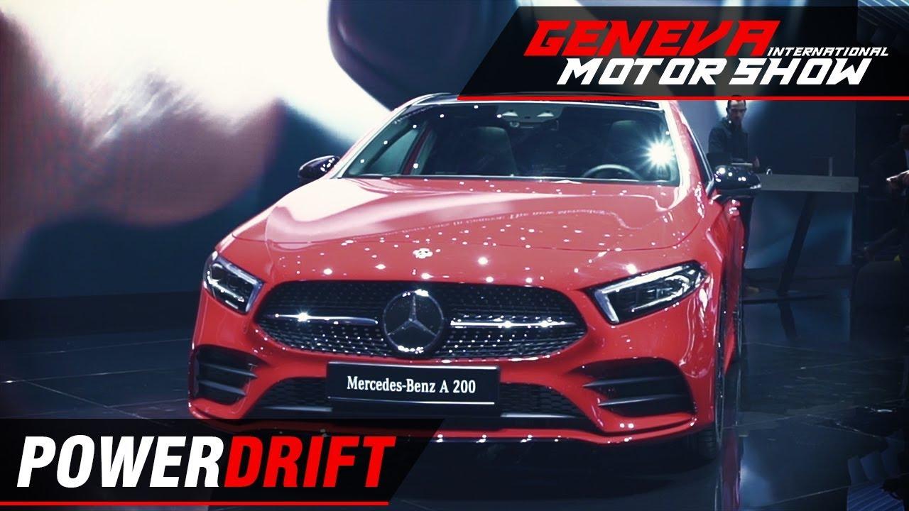 Mercedes Benz A Class - Has it grown up? : Geneva Motor Show 2018 : PowerDrift