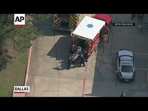 Two Dallas Police Officers Shot At Home Depot