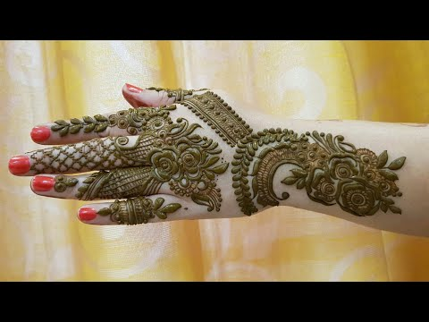 Khaleeji Henna Design 11 Tomclip