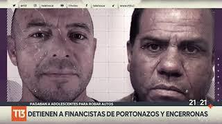 Detienen a financistas de portonazos y encerronas: pagaban a adolescentes para robar autos