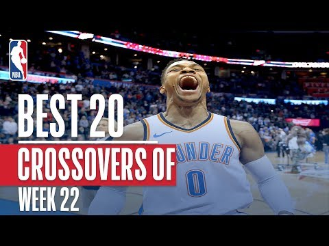 connectYoutube - Best Crossovers From Week 22 of the NBA Season (Russell Westbrook, Harden, LeBron and More!)