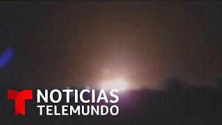 Video muestra al avión ucraniano siniestrado caer a tierra en Irán   Noticias Telemundo