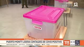 Plebiscito bajo pandemia: Puerto Montt lidera casos activos de COVID-19