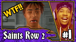 CHARACTER CREATION AND PRISON BREAK!!! || Saints Row 2 Walkthrough