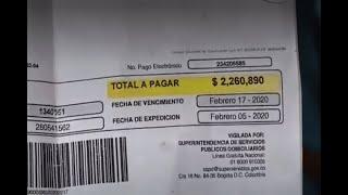 Caleños denuncian excesivos aumentos en las facturas de los servicios públicos
