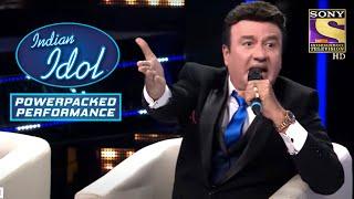 Khuda के Powerful Performance से लगा Anu जी को झटका!   Indian Idol   Power Packed Performance - SETINDIA