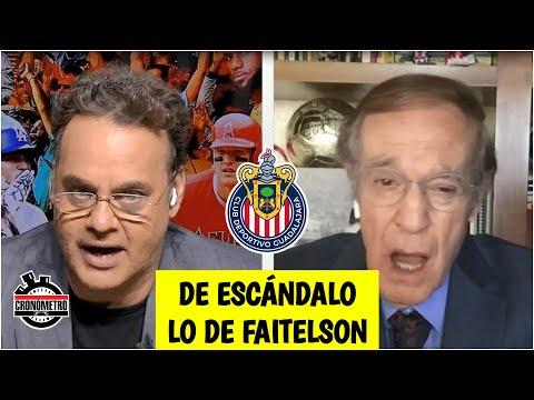 FAITELSON EXPLOTA Llamó SIN VERGÜENZAS a los jugadores de las Chivas. América, ELOGIADO   Cronómetro