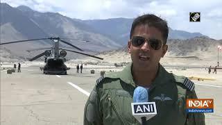 IAF ready for challenges near India-China border - INDIATV