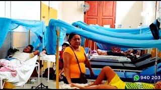 Hospital de Iquitos colapsó por incremento de pacientes con dengue