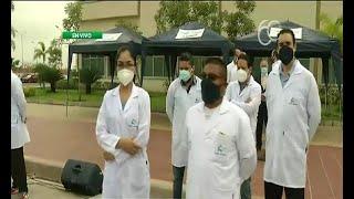 El Hospital Monte Sinaí recibe a un nuevo contingente de médicos