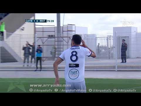 يوسفية برشيد 2-0 المغرب التطواني هدف زكرياء فاتي