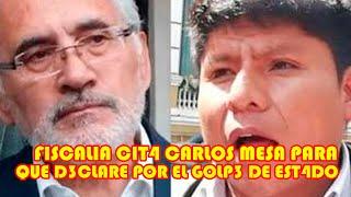 CARLOS MESA DEBE ACUDIR A DECL4RAR POCO A POCO LOS GOLPIST4 SE VAN DESM4NTELANDO..