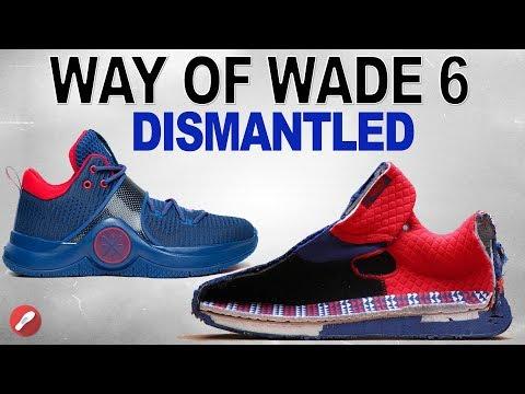 Li-Ning Way of Wade (WOW) 6 DISMANTLED!