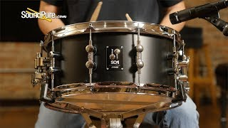 Sonor 6.5x14 SQ1 Snare Drum GT Black—Quick 'n' Dirty