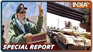 Ladakh में दिखे PM Modi के Fire & Fury... चीन को फुल ट्रीटमेंट देने वाली फ़ौज है तैयार - INDIATV