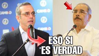 Luis Abinader Se pone Los Pantalones y Le Responde A Danilo Medina