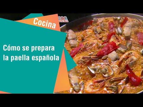 Cómo se prepara la paella española   Cocina
