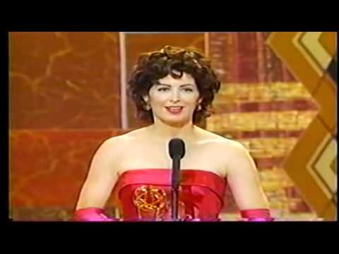 Dana Delany wins EMMY in 1992