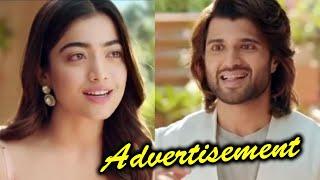 Vijay Devarakonda Rashmika Mandanna New Advertisement   TFPC - TFPC