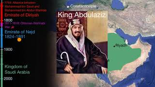 The Emirate of Nejd and the Kingdom of Saudi Arabia